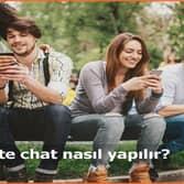 İnternet'te chat nasıl yapılır?